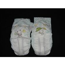 2 PAMPERS size 8 baby-dry Sample Diapers & 1 free size 7 PLus 1 New Luvs size 6