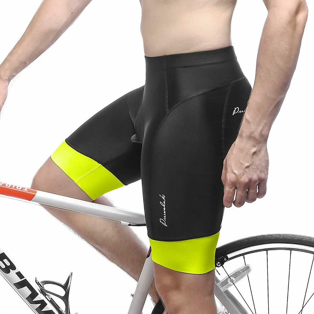 e44457174 Details about Przewalski Mens 3D Padded Cycling Shorts