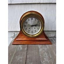 HAND-MADE SOLID CHERRY SHIP'S CLOCK/BAROMETER STAND BASE for 6