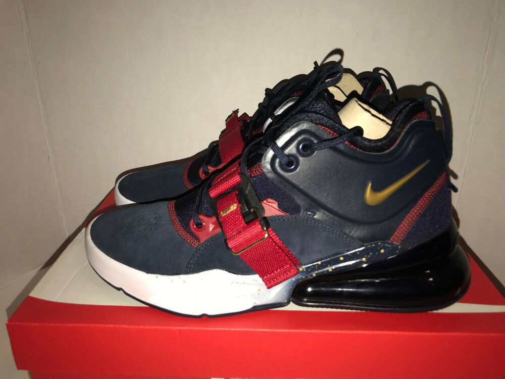 brand new ee086 52c5e Details about Nike Air Force 270 Dream Team Olympics Men's Size 8.5 9.5 AH6772  400