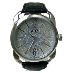 Mens Casual Watch Ice Master BM1318 Black Band Silver Dial, Fashion Watch 1ATM