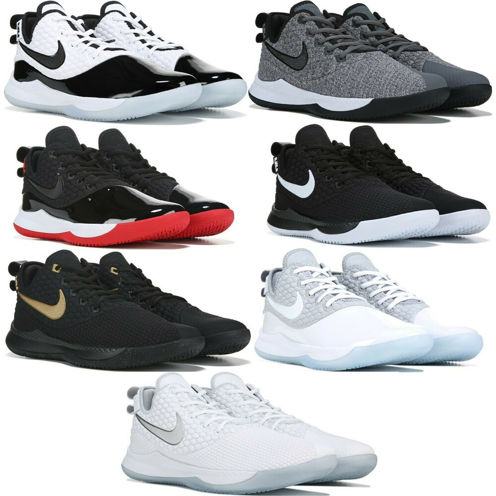 low priced 9ec21 84c96 Nike Lebron Witness III 3 Basketball Sneakers Men s Lifestyle Comfy Shoes    eBay
