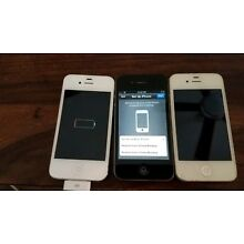 Lot Of 3 iPhone 4 A1349 A1332