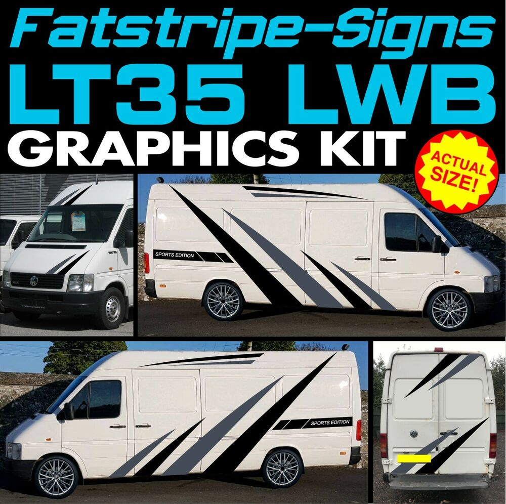 89718023f7 Details about graphics stickers stripes decals conversion camper van  volkswagen jpg 1000x996 Conversion van decal kits