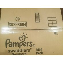 Pampers Swaddlers Size Newborn (12 Packs of 20 = 240 count) Diapers