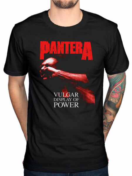 Official Pantera Vulgar Display Of Power T-Shirt I Am The Night Venemous Texas
