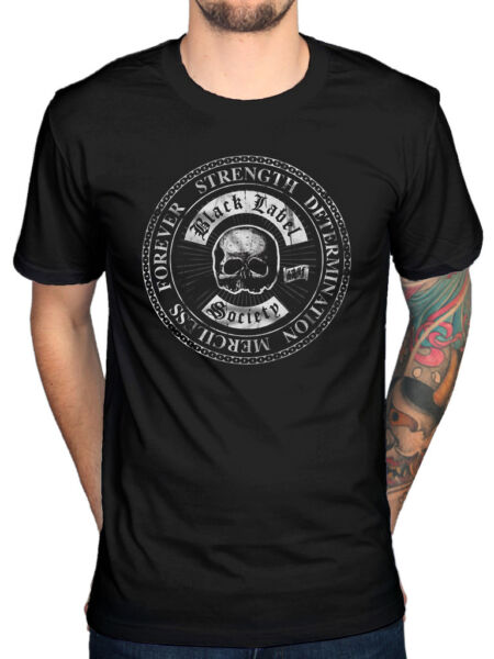 Official Black Label Society Strength T-Shirt Unisex Band Stronger Than Death 19