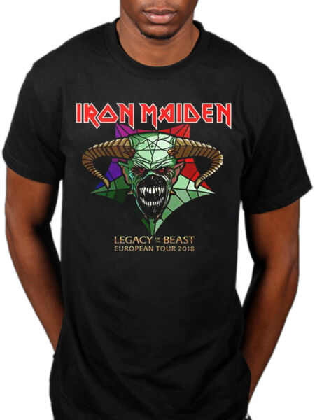 Official Iron Maiden Legacy Of The Beast Tour T-shirt European Tour 2018 Merch