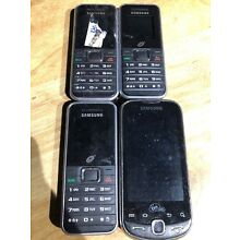 Samsung Phone Lot Of 4 Devices