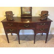 American Federal Mahogany Sideboard Buffet 1799-1815,18th or Early 19th Century