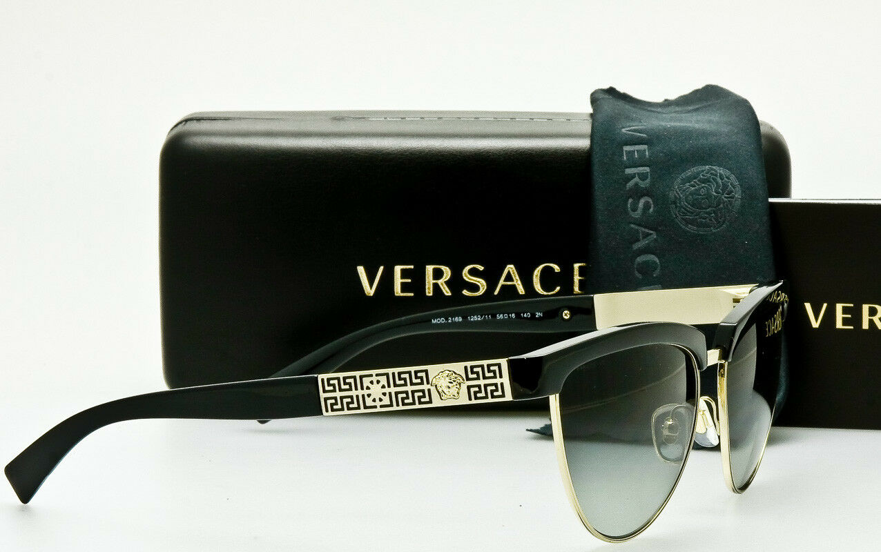 f8a5381a7b77 ... EAN 8053672584240 product image for Versace Ve 2169 Sunglasses 125211  Black ...