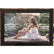"""TO BELIEVE"" by Steve Hanks LE  15/45 Giclee Canvas, FRAMED"