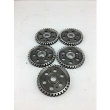 Lot Of 5 Industrial Machine Steampunk Pulley Gear Cog Lamp Base