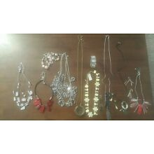 Large Lot Of Chico's Jewelry