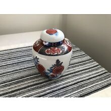 Interpur Japan Vase Oriental Design With Lid