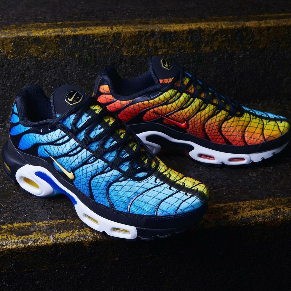 """free shipping 02b77 f837b Details about Nike Air Max Plus Tn """"GREEDY"""" Men s Shoes Lifestyle Premium  Comfy Sneakers"""