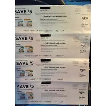 $50 Similac/Enfamil Coupons.  (1)$15 & (7)$5 expire 1/17/2019 & 1/02/2019.
