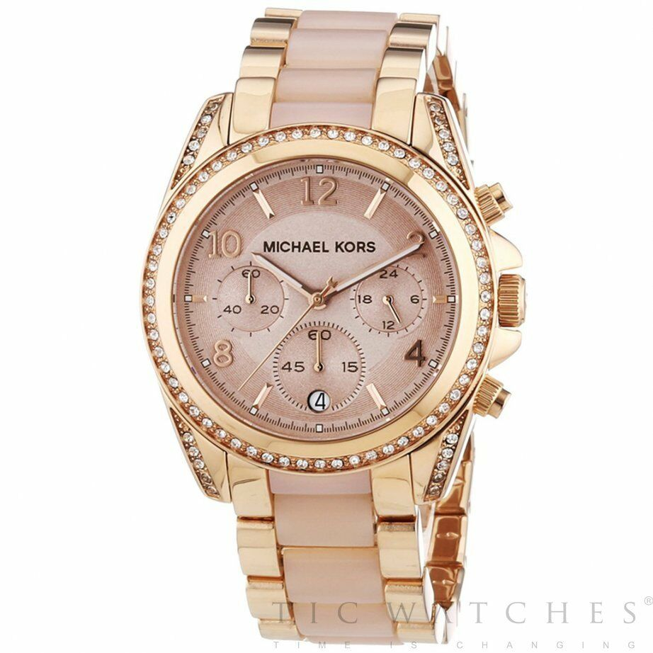 ba957aa6bf99 Details about Michael Kors Watches Michael Kors MK5943 Michael Kors Rose  Gold Ladies Watch