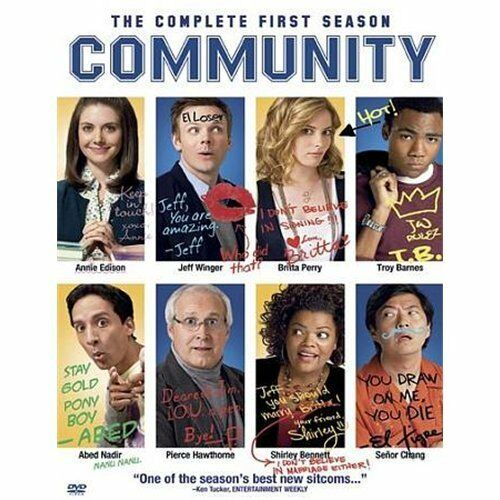 Community: Season 1 + The Goldbergs : The Complete First Season by  in Used - L