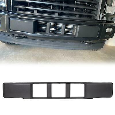 Front Bumper Cover Lower Grille Trim Panel Black For 2015-2017 Ford F-150