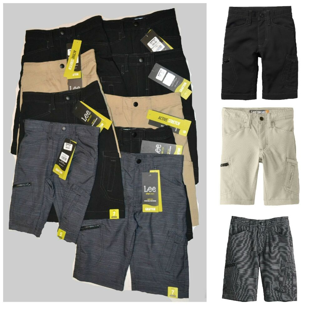 45b24024 Details about Boys 4-7x Lee Dungaree Grafton Cargo Shorts., 32.00