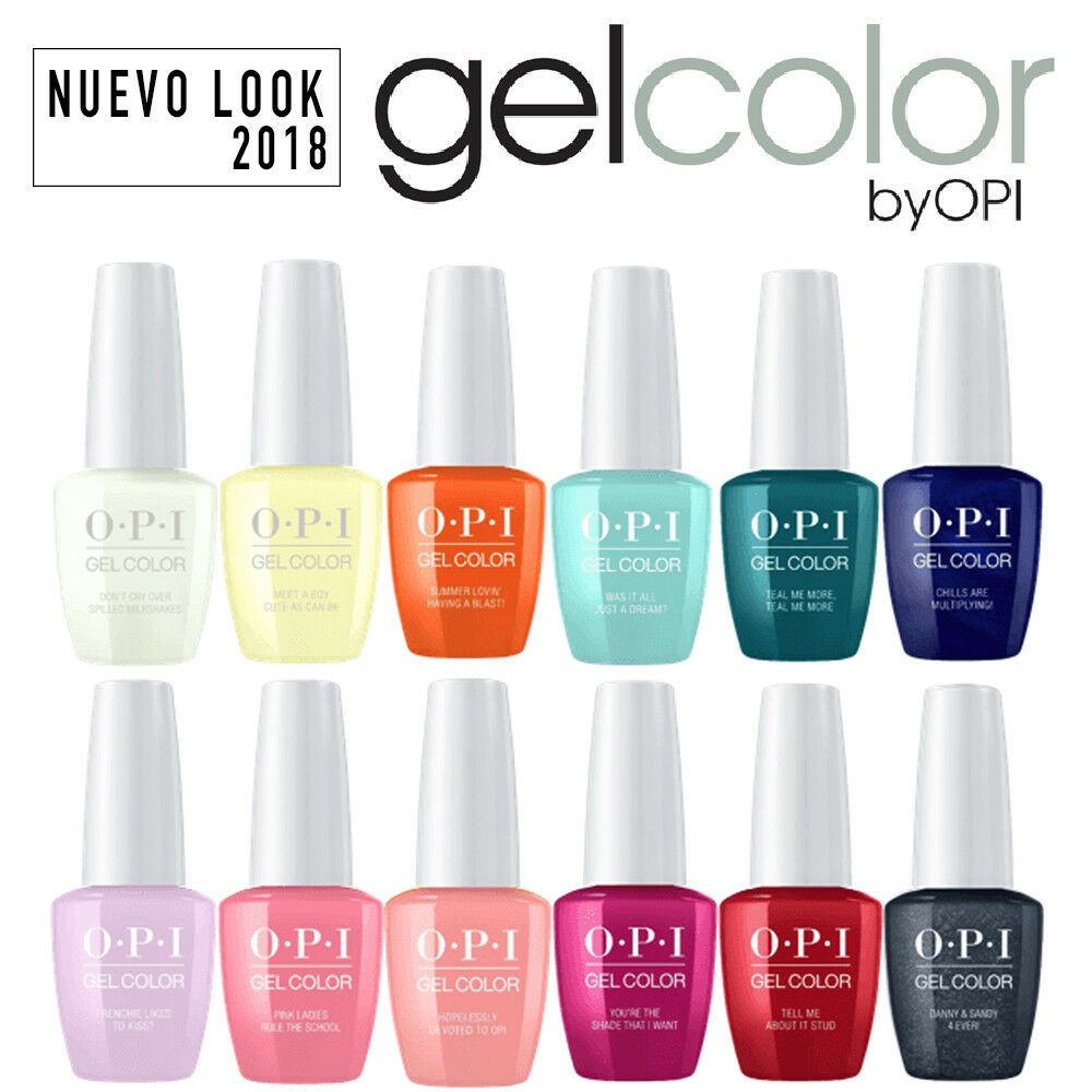 Opi Gel Color New Look Vernis A Ongles Couleurs 2018 15ml