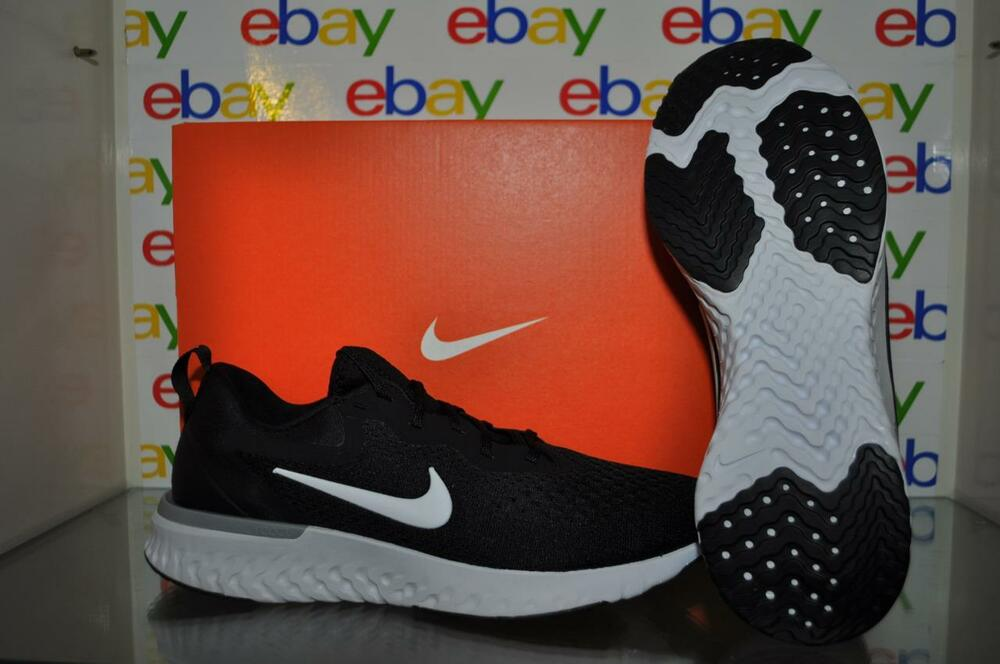 8ee725dd3d72f Details about Nike Odyssey React AO9819 001 Mens Running Shoes Black White  NIB