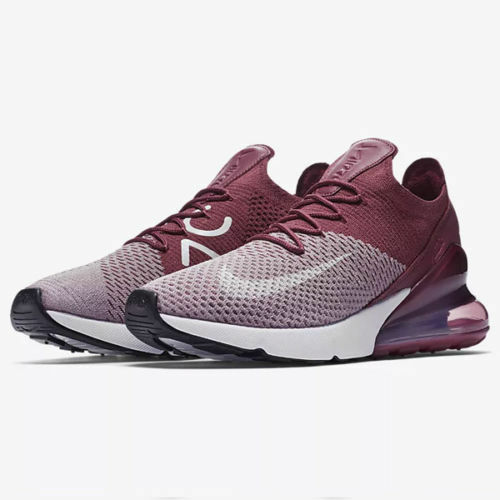 Details about Nike Air Max 270 Flyknit Plum Fog White AO1023-500 Men s NEW ce06c80a6