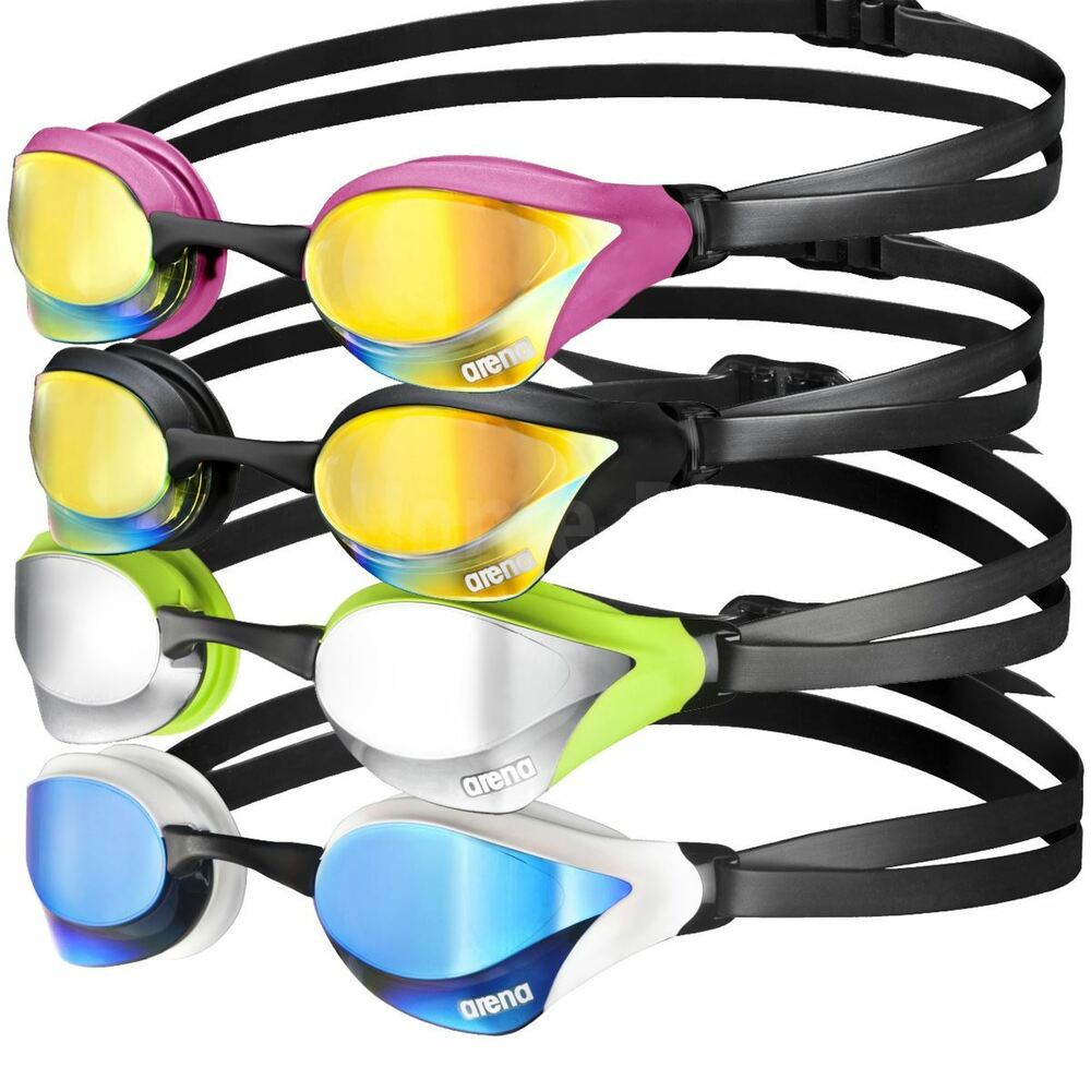 10ad4e50c6 Details about Arena Cobra Core Mirror Adult Racing UV Anti-Fog Swimming  Goggles