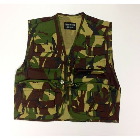 img-Mil-Com Kid's Camouflage Vest Waistcoat Tactical Hunting Shooting Army