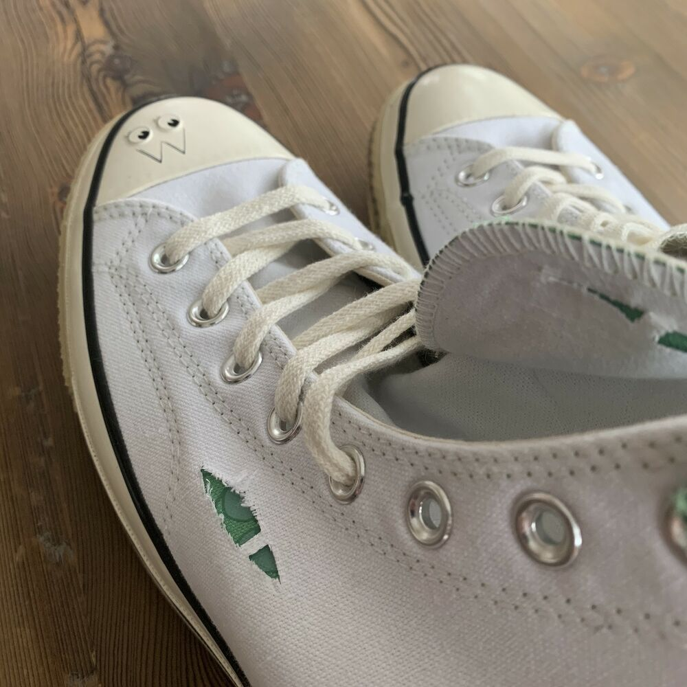 b9e996d0a115 Details about New Converse Chuck Taylor All-Star 70s Hi Dr. Woo Wear to  Reveal White Size 11