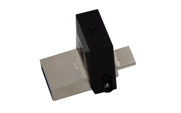 Pen Drive Kingston DTDUO3 / 16 GB Pennetta Connettori MicroUSB E USB 3.0
