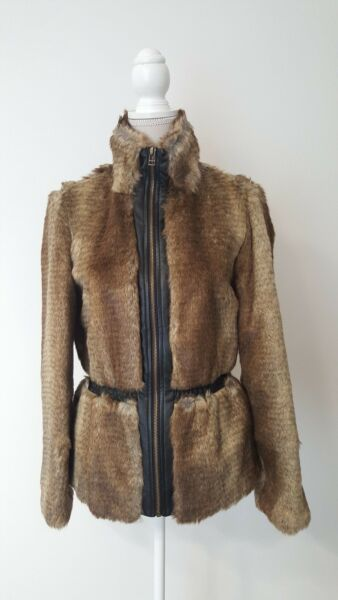 Only Onllaura Faux Fur Jacket CC Otw Giacca Donna