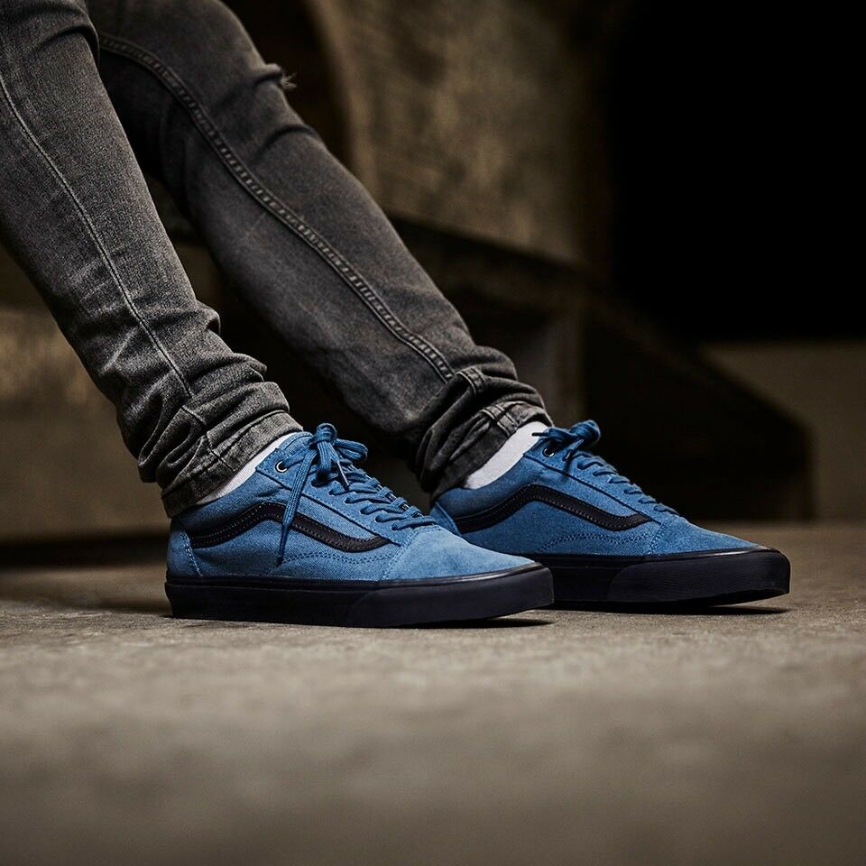e33b5de5c35ff7 Details about Vans Old Skool C D Blue Ashes Parisian Night Men s Size 6.5  New In Box Skate