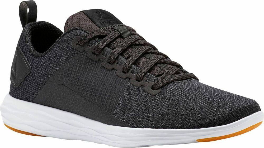 2972948fc69bed Details about Reebok Women s Astroride Walk Coal Gray White Athletic Shoes  Sizes 6-10