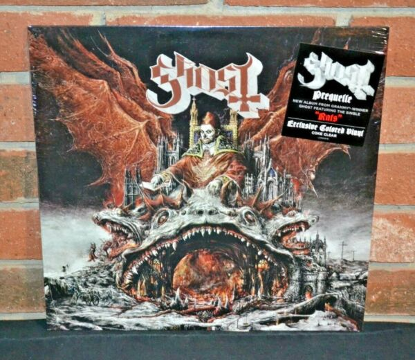 GHOST - Prequelle, Limited 1st Press COKE CLEAR VINYL LP New & Sealed!