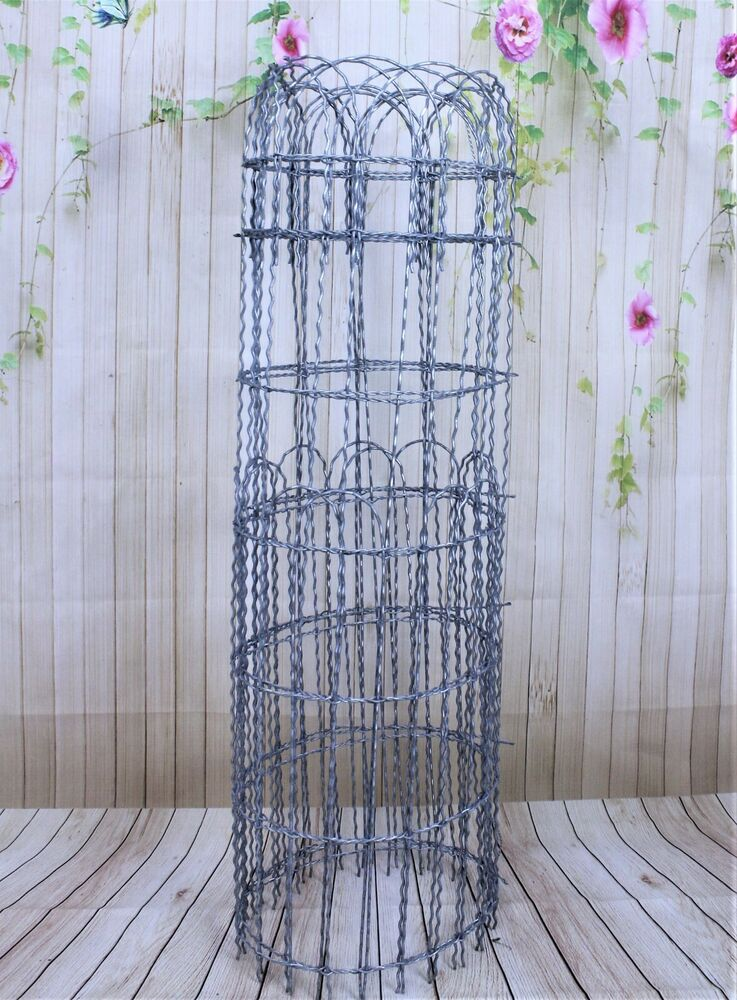100 X 4 Tall Galvanized Double Loop Woven Wire Old