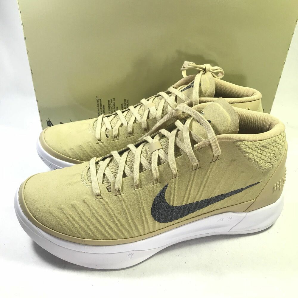 Details about Nike Kobe AD TB Promo Men s Basketball Shoes Team Gold Dark  Grey Size 15.5 NEW 8969d055d