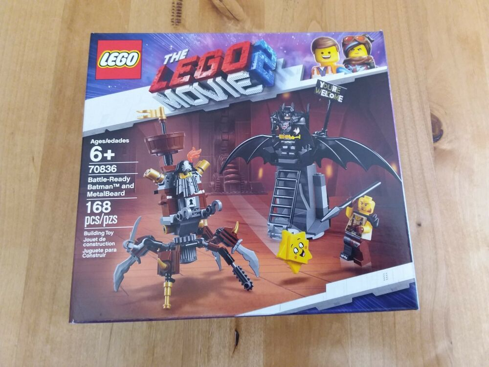 The Movie And Metalbeard Batman 70836 Ready 2 Lego Free Battle b76yfg