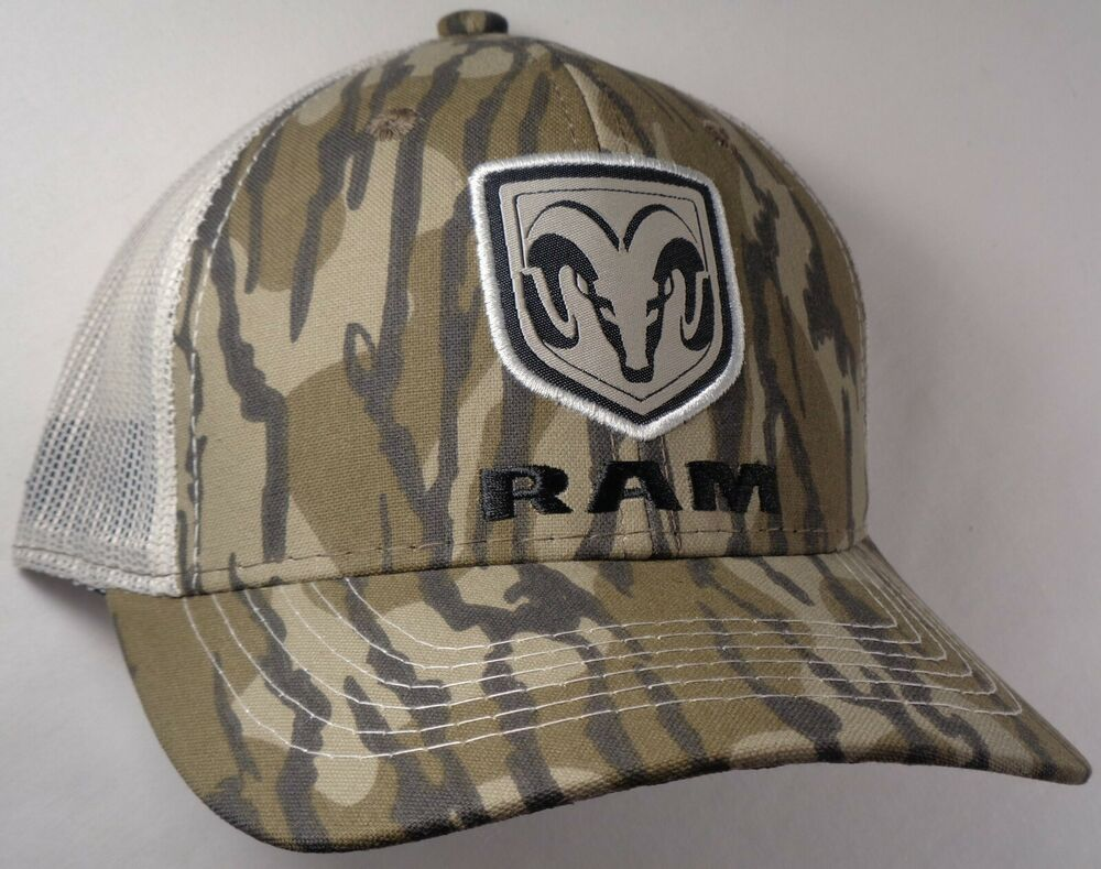 Details about Hat Cap Licensed Dodge Ram Mossy Oak Bottomland Tan Mesh OC b3d4c036716