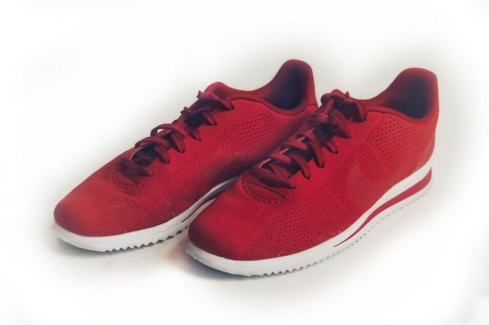 separation shoes 9988e e57ff Nike Cortez Ultra Moire Men's Running Shoes Red | eBay