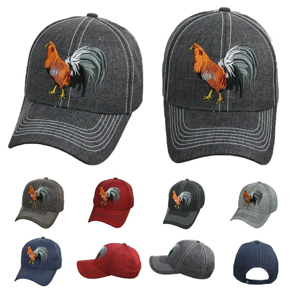 Details about Baseball Cap Rooster Hat Cock Fight Snapback Fashion Casual  Hats Gallo Mexico 2453615f660