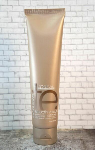 L'OREAL Texture Expert Smooth Velours Lotion Medium Hair 5 fl oz NEW