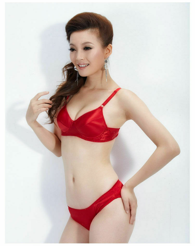 2517da646df Details about One Thinly Padded No Wire Pure Heavy Weight Silk Bra 8601