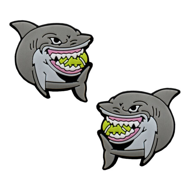 Shark Tennis Vibration Dampener 2-Pack by Racket Expressions