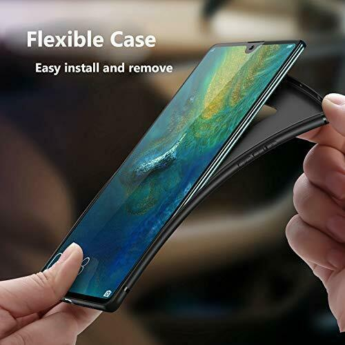 Coque Protection Housse Etui silicone noir  pour HUAWEI MATE 20X