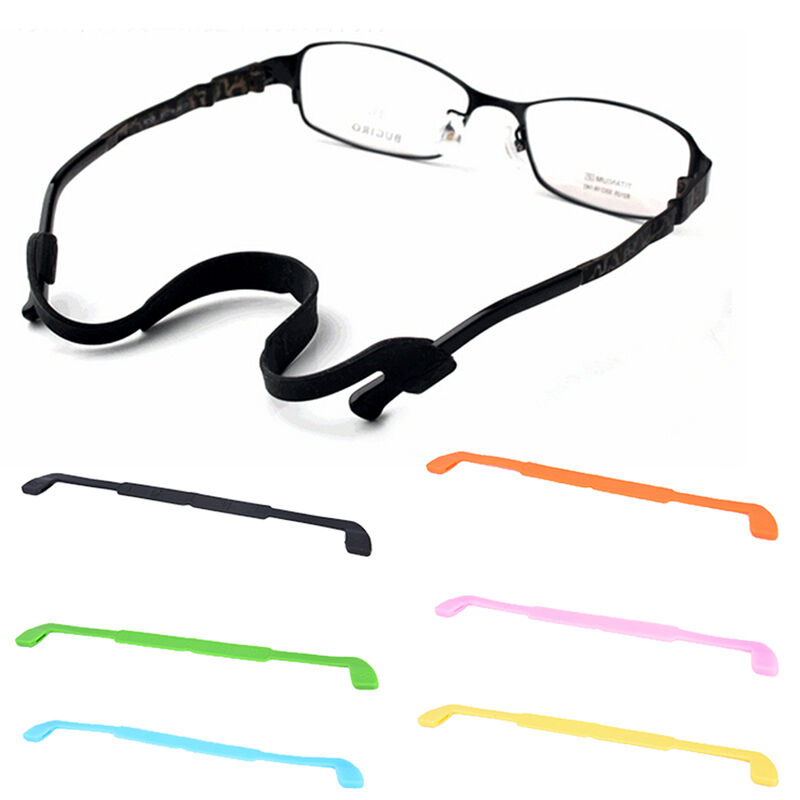 1ba27c08ee0 Details about Silicone Eyeglasses Glasses Sunglasses Strap Sports Band Cord  Holder For Kids OD