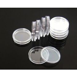 Kyпить 100 Direct Fit Airtight 18mm Coins Capsules Storage Holder for US Dimes на еВаy.соm