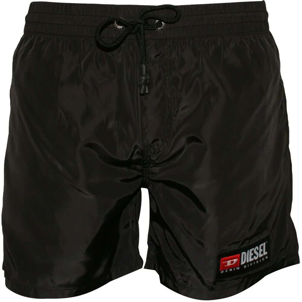 e3f2297537125 Details about Diesel Jeans Logo Men's Swim Shorts, Black