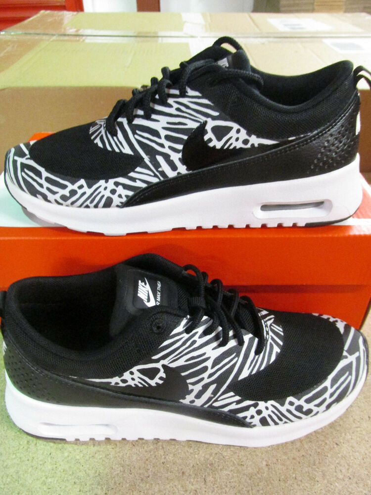 167eb5cb4a65 Details about nike womens air max thea print running trainers 599408 010  sneakers shoes